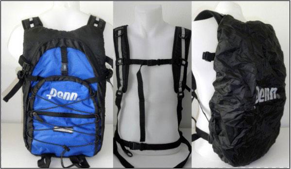 Univerzální sportovní batoh Penn: Ideální na běh, inline, cyklistiku či lehkou turistiku!