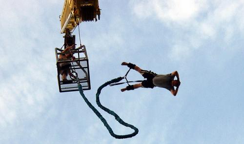extr mn bungee jumping z v ky a 120 metr od sleva 50. Black Bedroom Furniture Sets. Home Design Ideas