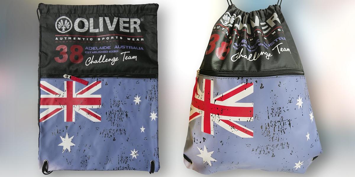 Do fitka i na výlet se sportovním vakem Oliver Adelaide Bag!